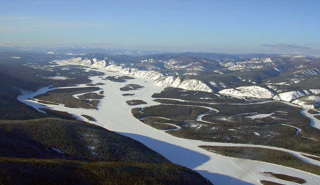 The Yukon River in the White Gold district in the Yukon. Photo courtesy of Shawn Ryan.