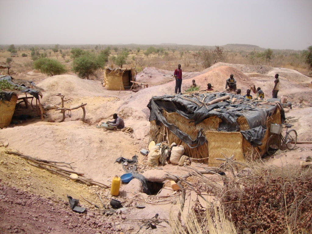 The Mankarga 5 gold deposit at West African Resources' Tanlouka gold project in Burkina Faso, in 2010. Credit: West African Resources.