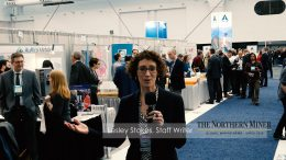 Staff Writer Lesley Stokes reports on-site from the Core Shack at AME BC's Roundup 2017 conference in Vancouver. Photographer: Matthew Keevil.