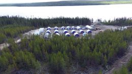 The Rook I camp in Saskatchewan's southwest Athabasca basin. Credit: NexGen Energy.