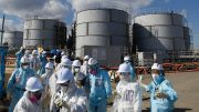 At TEPCO's closed Fukushima nuclear power station in Japan, five year after the March 2011 accident. Credit ABC News.