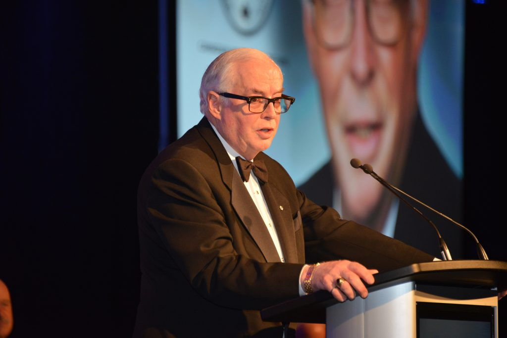 James C.A. Carter, CMHF inductee. Credit: Keith Houghton Photography.