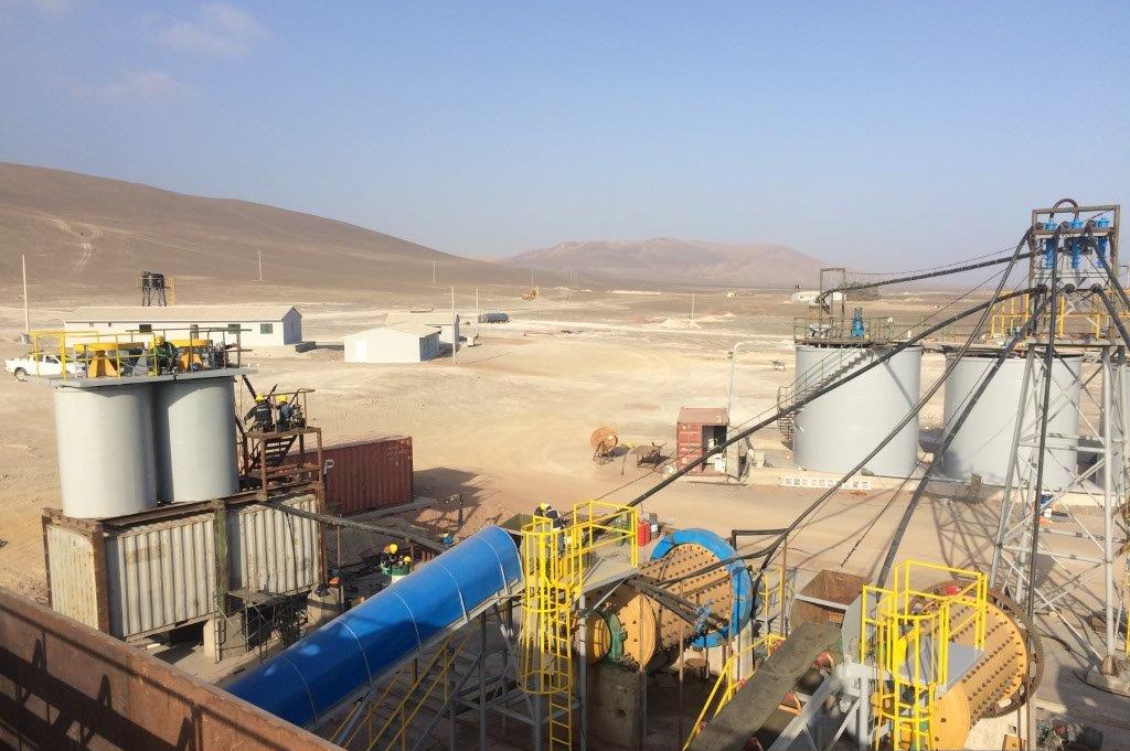 The Koricancha mill is a fully-operational industrial gold milling facility located in Southern Peru. Credit: JDL Gold.