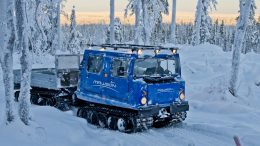 Mawson Resources is exploring its flagship Rajapalot and Rompas exploration projects just south of the Arctic Circle in Finnish Lapland. Credit: Mawson Resources.