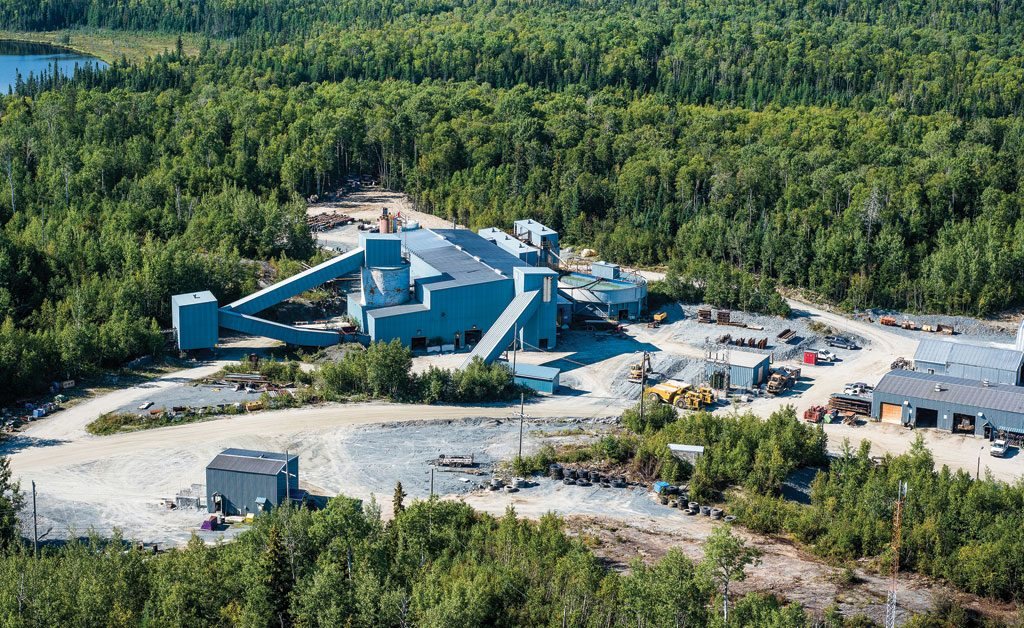 Richmont Mines' Island Gold mine near Dubreuilville, Ont., 80 km northeast of Wawa. Credit: Richmont Mines
