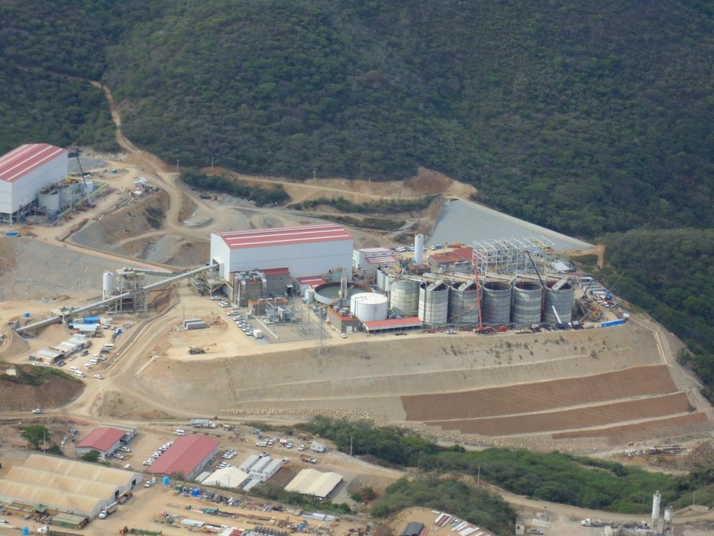 The mill at Torex Gold Resources' El Limon-Guajes (ELG) gold mine complex in southern Mexico. Credit: Torex Gold Resources.