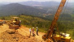Everton Resources holds 300 sq. km of prospective mineral rights in the Dominican Republic, including a large land position adjacent to Barrick and Goldcorp's Pueblo Viejo project. Credit: Everton Resources.