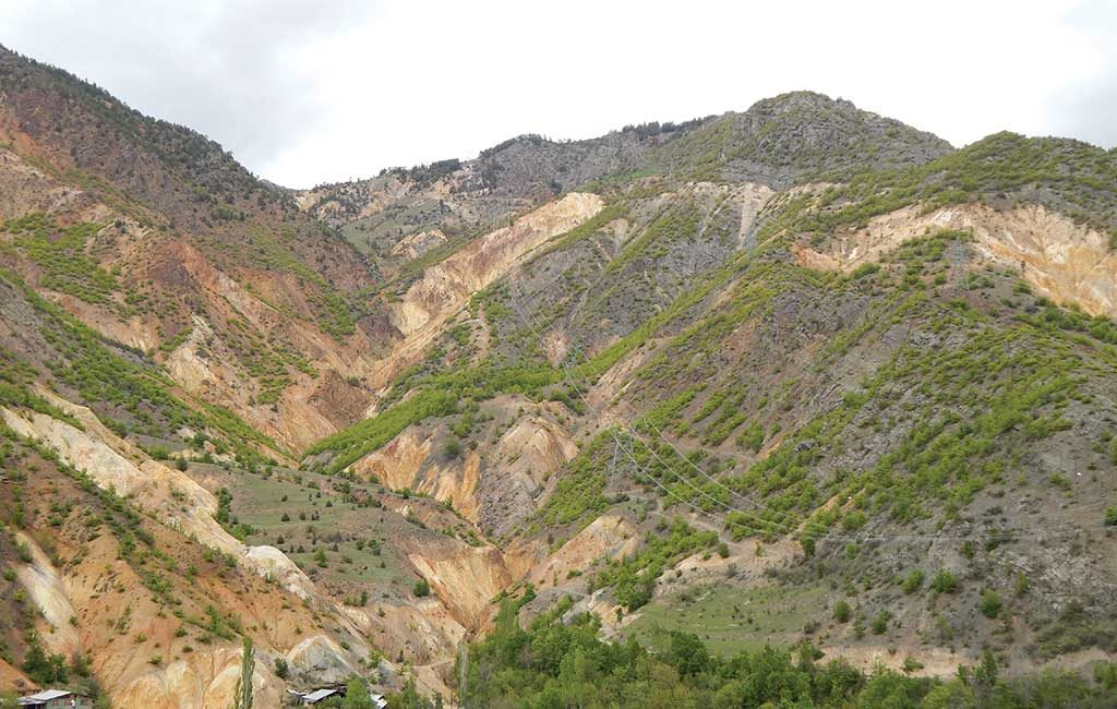Mariana Resources' 30%-held Hot Maden gold-copper project in northeastern Turkey's Artvin province. Credit: Mariana Resources.