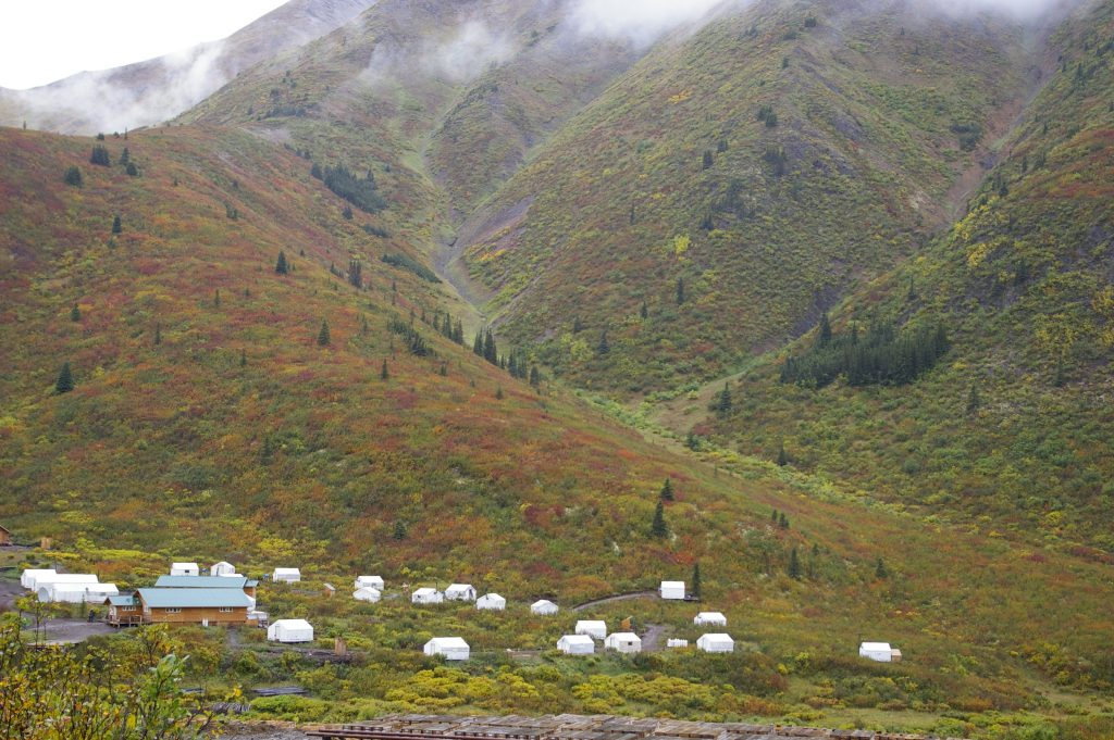 Camp facilities at Atac Resources' Rackla gold project. Credit: Atac Resources.
