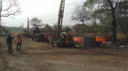 Workers and equipment at Teranga Gold's Banfora gold project in Burkina Faso. Credit: Teranga Gold