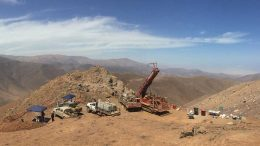 A drill site on Camino Minerals' Los Chapitos copper project in Peru. Credit: Camino Minerals.