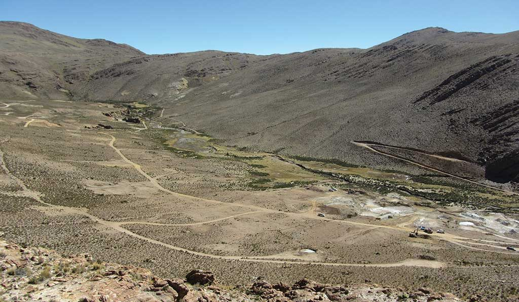 Golden Arrow Resources' flagship Chinchillas silver-lead-zinc project in Argentina's Jujuy province. Credit: Golden Arrow Resources.