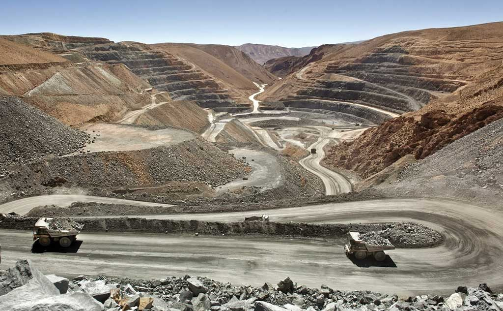 The San Miguel pit at Silver Standard Resources' Pirquitas silver-zinc mine, in Argentina's Jujuy province. Credit: Silver Standard Resources.