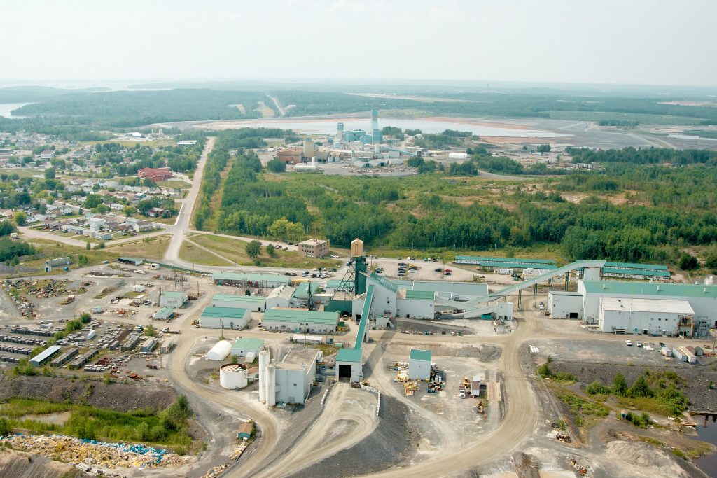 An aerial view of Goldcorp's Red Lake operations. Credit: Goldcorp.