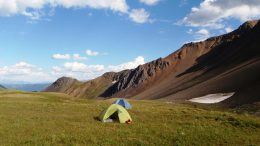 GT Gold's campsite in the Pass Valley. Credit: GT Gold.