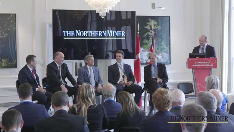 A discussion panel examines the challenges of how to deploy cash at the Canadian Mining Symposium in London, in early May.