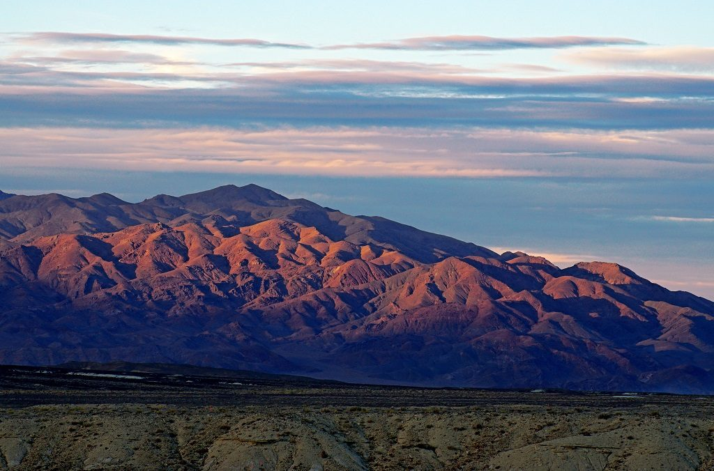 Views of western Nevada near the Clayton Valley project in Esmeralda County. Credit: Pure Energy Minerals.