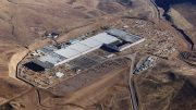 Tesla's Gigafactory near Sparks, Nevada, which is expected to start producing battery cells later this year. Credit: Tesla's Gigafactory near Sparks, Nevada, which is expected to start producing battery cells later this year. Tesla.