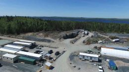 A view of Harte Gold's Sugar Zone gold project in northern Ontario. Credit: Harte Gold.