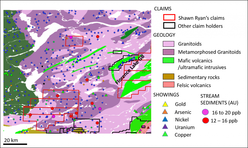 Shawn ryan turns attention to labrador gold the northern miner an intrusive complex along strike of the florence lake greenstone belt hosts the highest concentration of gumiabroncs Choice Image