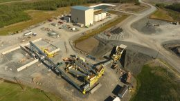 The Touquoy site at Atlantic Gold's Moose River Consolidated (MRC) gold project about 70 minutes drive via 110 km of sealed roads north-east of Halifax. Credit: Atlantic Gold.