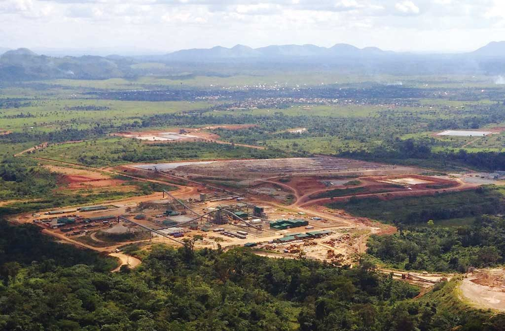 Banro's Namoya gold mine in the Democratic Republic of the Congo, where five employees were kidnapped in March. Credit: Banro.