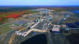 Xstrata Zinc officially closed the Brunswick zinc-lead mine just south of Bathurst in 2013 after 49 years of operation. Credit: Glencore Canada.