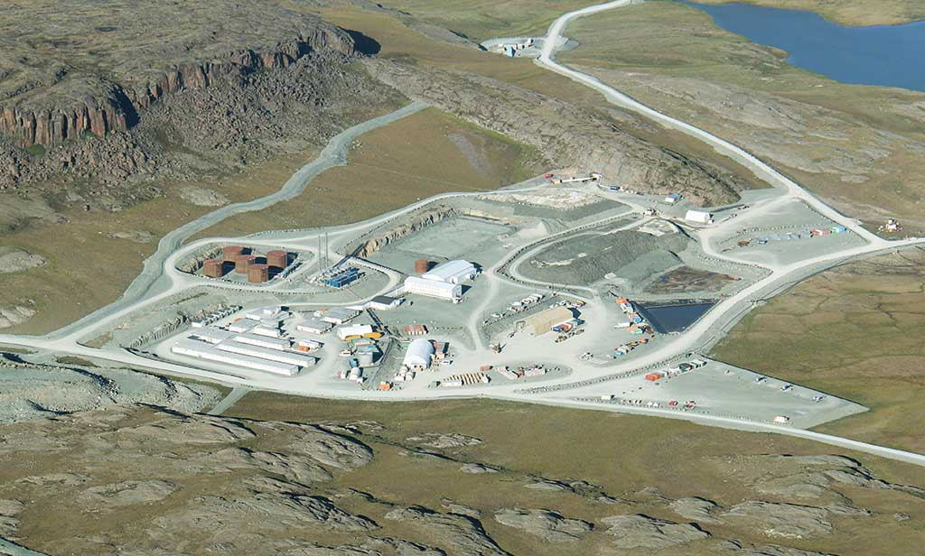 The Doris camp at TMAC Resources' Hope Bay gold project in Nunavut. Credit: TMAC Resources.