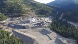 JDS Silver's Silvertip silver-zinc-lead mine in northern British Columbia, 16 km south of the Yukon border. Credit: JDS Silver.
