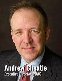 Andrew Cheatle, Executive Director, PDAC
