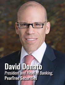 David Donato, President and Head of Banking, PearTree Securities