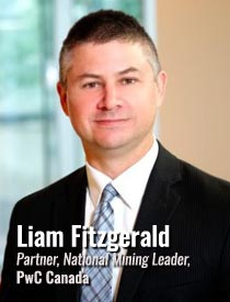 Liam Fitzgerald, Partner and National Mining Leader, PwC Canada