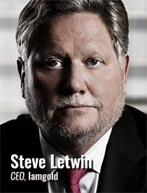 Steve Letwin, CEO, Iamgold
