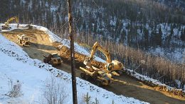 Portal bench excavation at the Idaho cobalt project in November 2011. Credit: eCobalt Solutions.