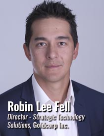 Robin Lee Fell, Director, Strategic Technology Solutions, Goldcorp Inc.