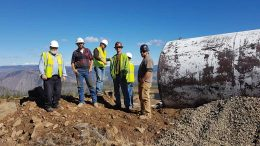 Workers at eCobalt Solutions' Idaho Cobalt project in Idaho. Credit: Cobalt Solutions.
