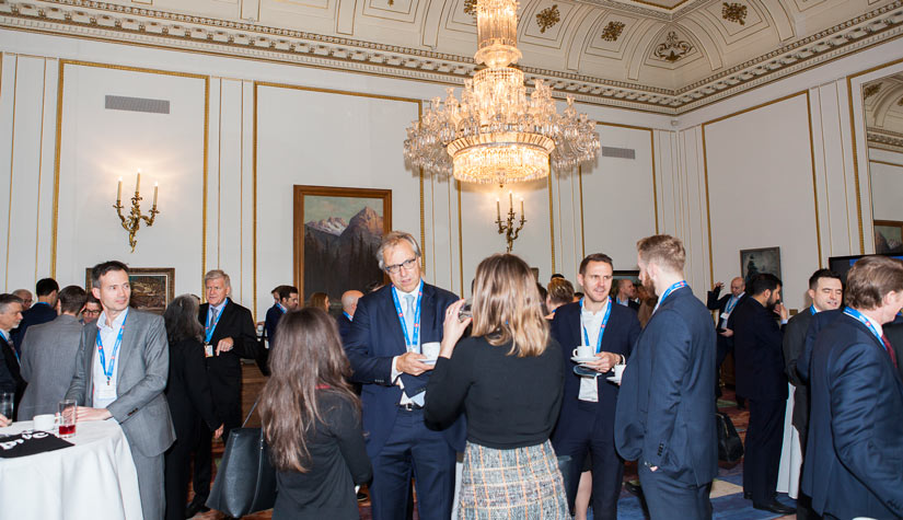 Networking at The Canadian Mining Symposium 2017