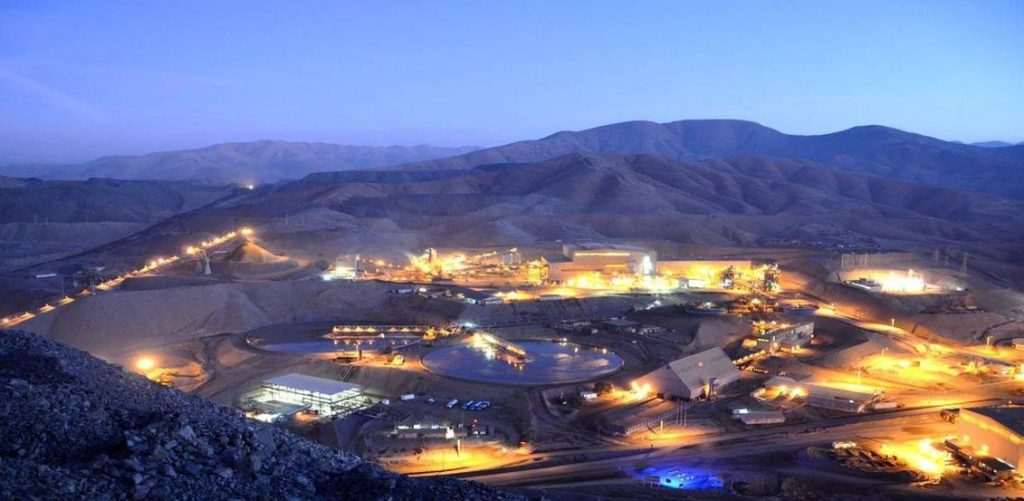 The Candelaria and Ojos del Salado mines and surrounding tenements are located in Chile's Atacama Province, Region III, at an elevation of approximately 650 metres above sea level, 20 km south of the city of Copiapó. Credit: Lundin Mining.