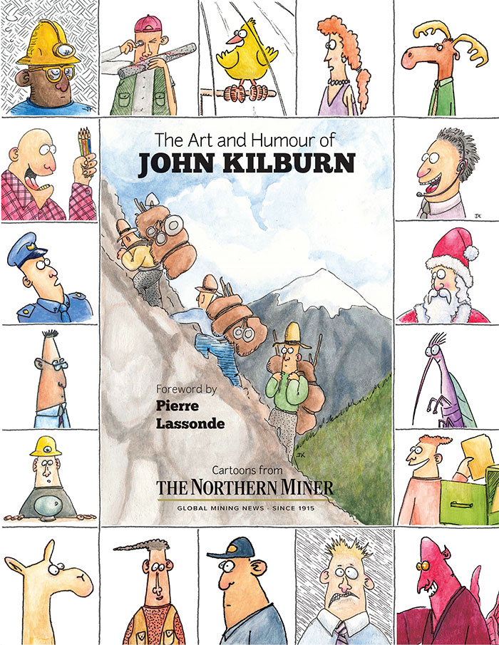 The Art and Humour of John Kilburn