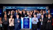 The Association for Mineral Exploration (AME) closes the Toronto Stock Exchange to wrap-up the annual Roundup mining conference in Vancouver, B.C. Credit: The Association for Mineral Exploration.