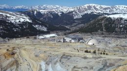 Freeport-McMoRan's Climax molybdenum mine in Colorado. Credit: Freeport-McMoRan.