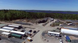 An overview of Harte Gold's Sugar Zone gold property in Ontario. Credit: Harte Gold.