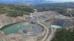 An aerial view of Capstone Mining's Minto copper-gold-silver mine in the Yukon. Credit: Capstone Mining.