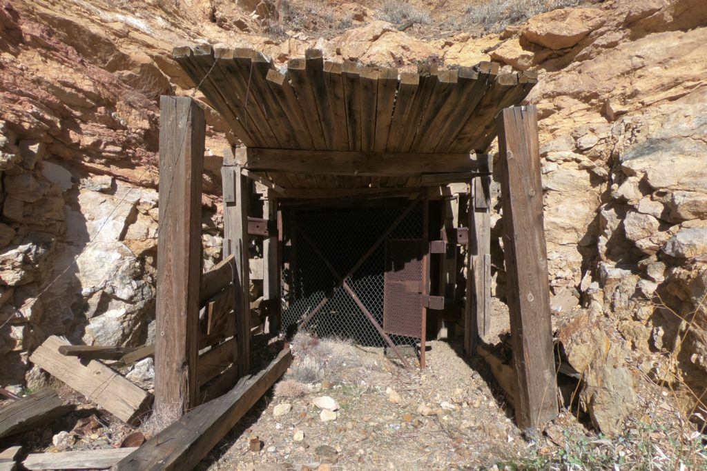 An old access property on the Sterling property, which was mined between 1980 and 2000. Photo by Richard Quarisa.