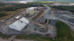 Atlantic Gold's Touquoy gold project in Nova Scotia. Credit: Atlantic Gold.