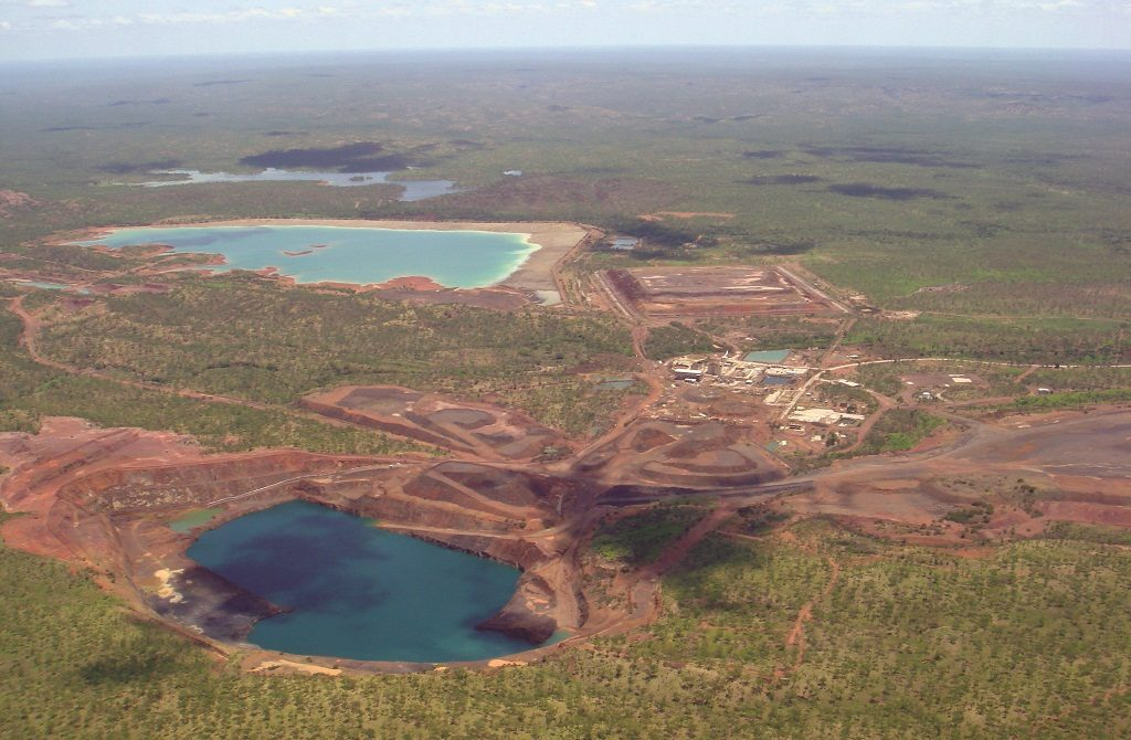 Vista Gold Corp.'s Mt Todd gold project in Australia's Northern Territory. Photo credit: Vista Gold Corp.