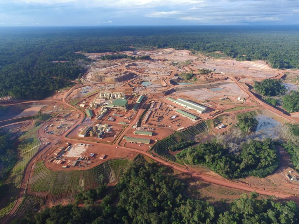 Newmont Mining's Merian gold mine in Suriname. Credit: Newmont Mining.