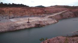 Open-pit mining at Iamgold's Rosebel gold mine in Suriname. Photo by John Cumming