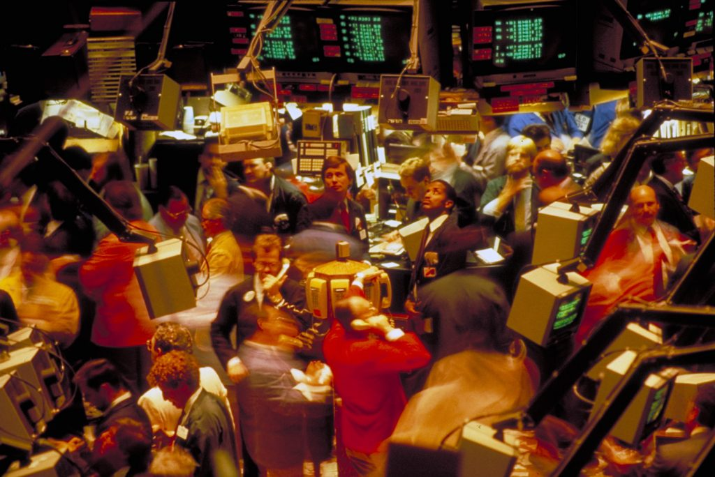 American Barrick Resources' Toronto Stock Exchange listing in 1983. Credit: Barrick Gold.