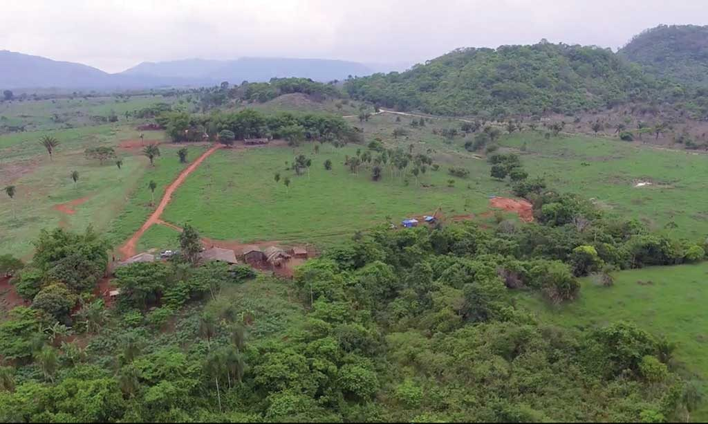 A drill rig on the homestead target at Lara Exploration's Planalto copper project in Brazil's northern Carajas district. Credit: Lara Exploration.